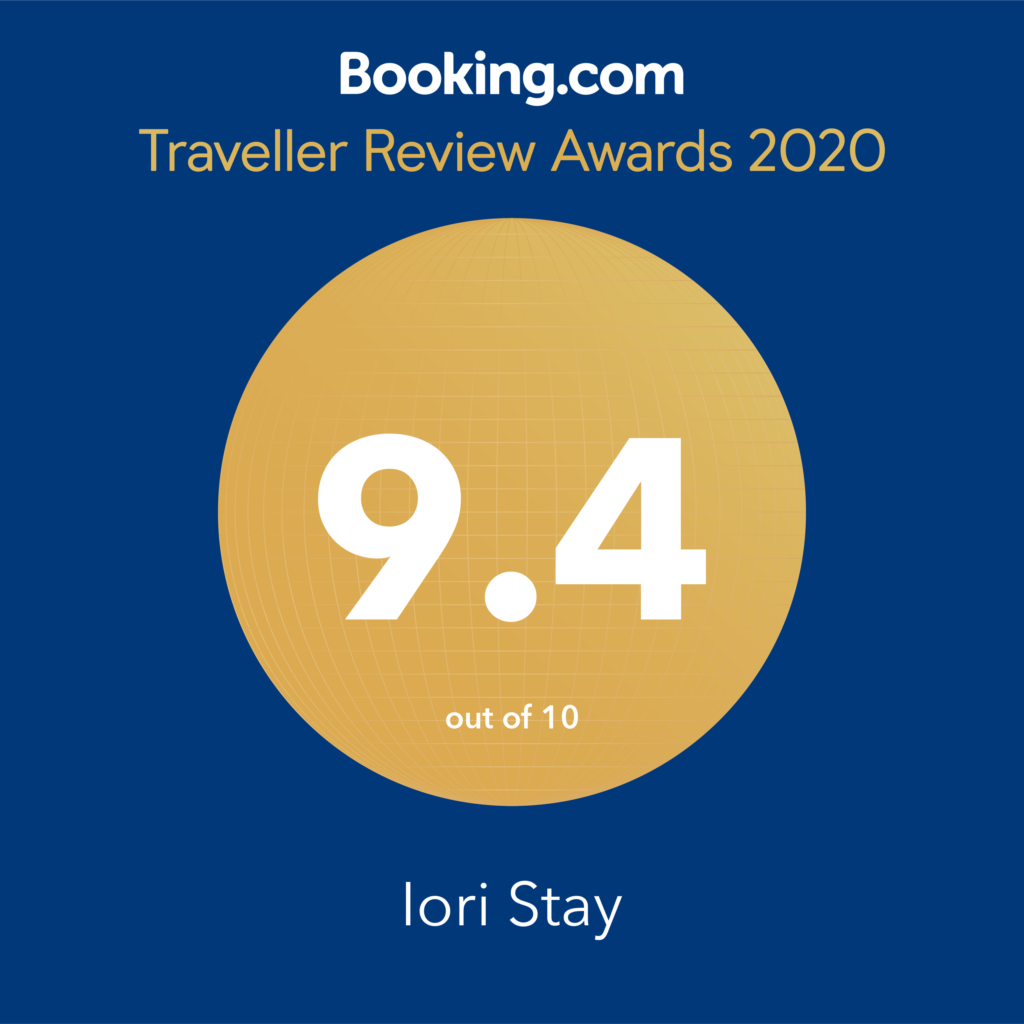 IORI STAYがBooking.com Traveller Review Awardsを受賞しました。